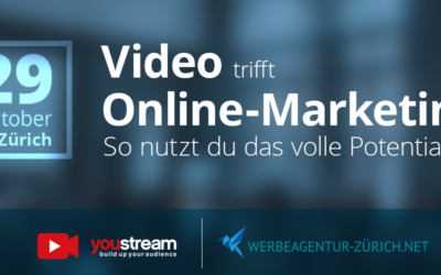 Video & Online-Marketing Event 29.10.19 Zürich